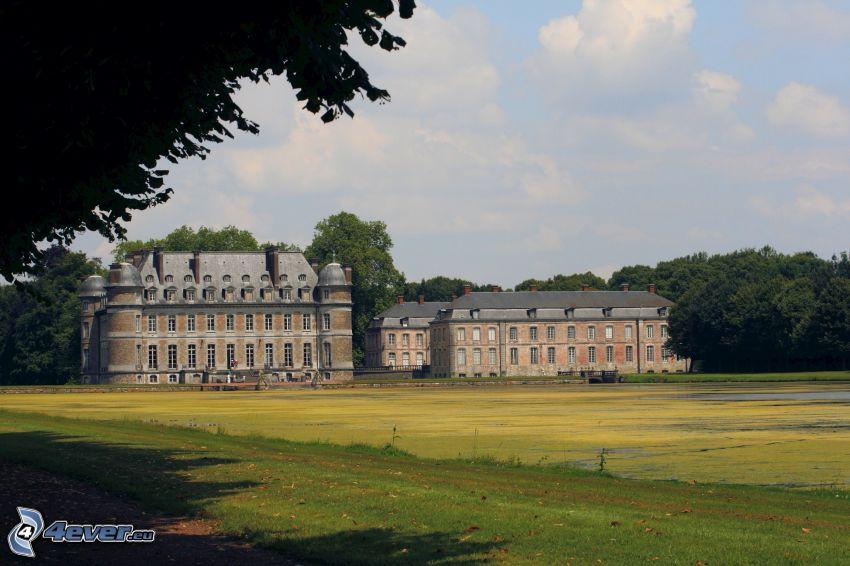 Château de Belœil, meadow