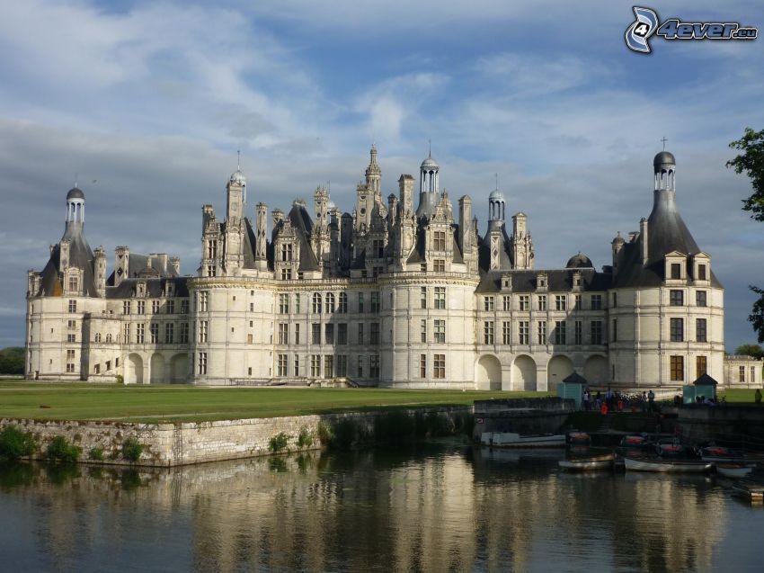 Château de Chambord, Cosson, boats