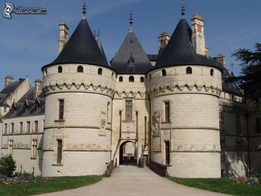 Château de Chaumont, gate
