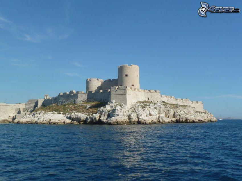 Château d'If, island