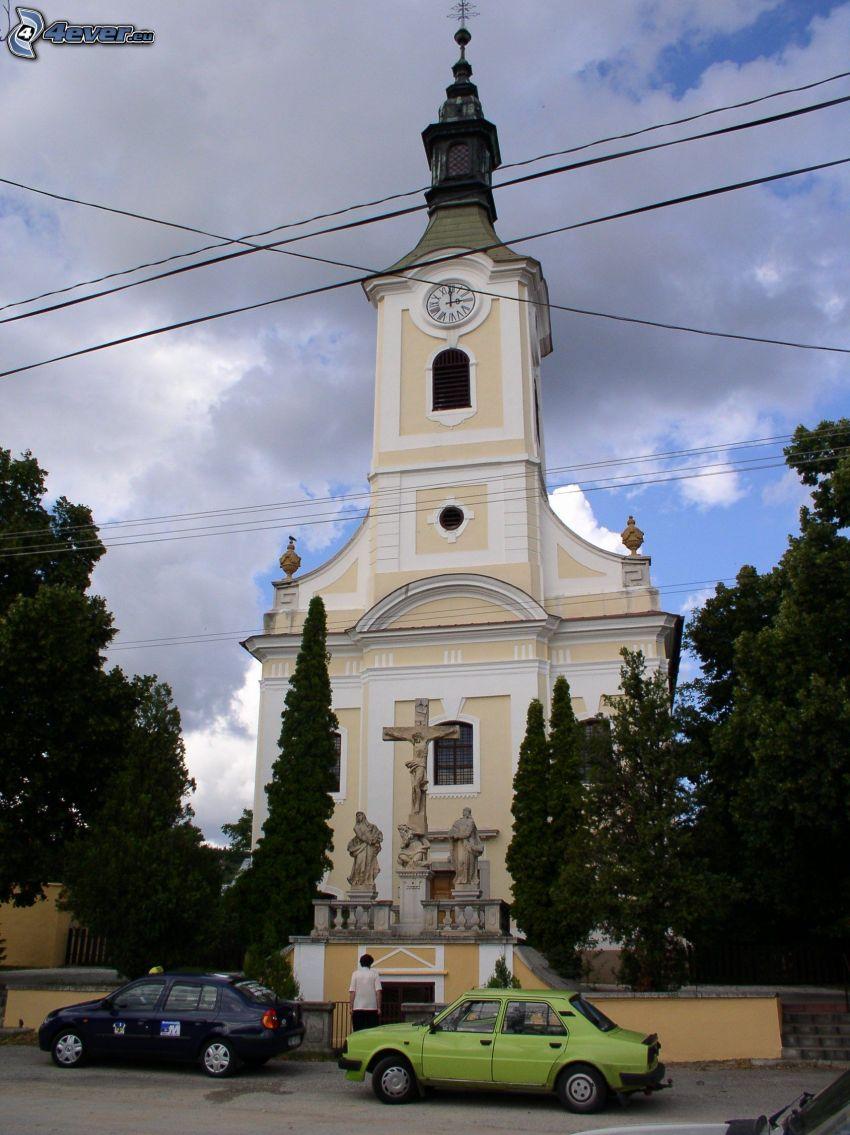 church, Drážovce, Nitra