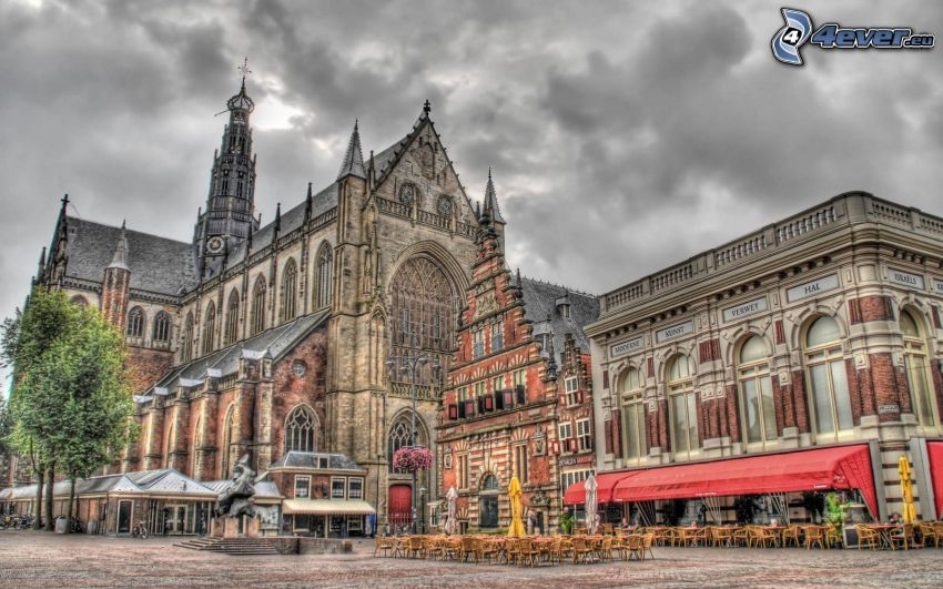 church, HDR