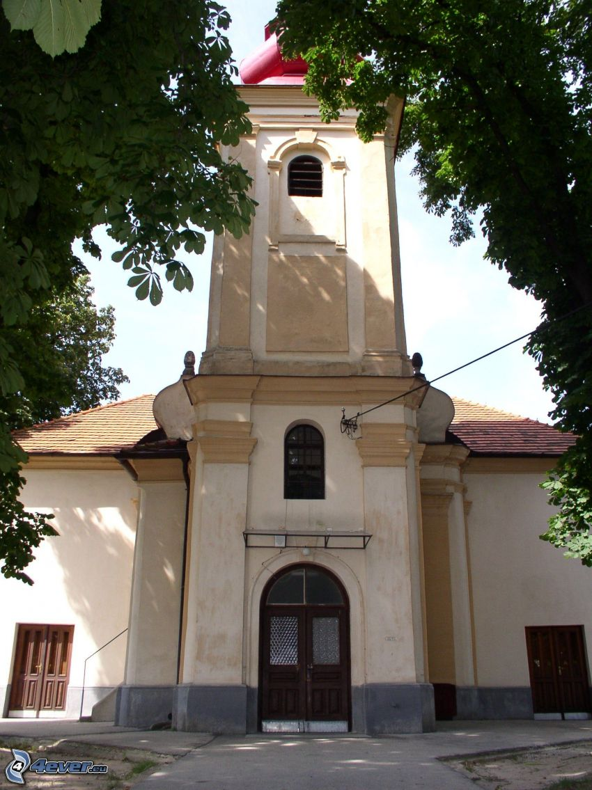 church, Krškany, Nitra