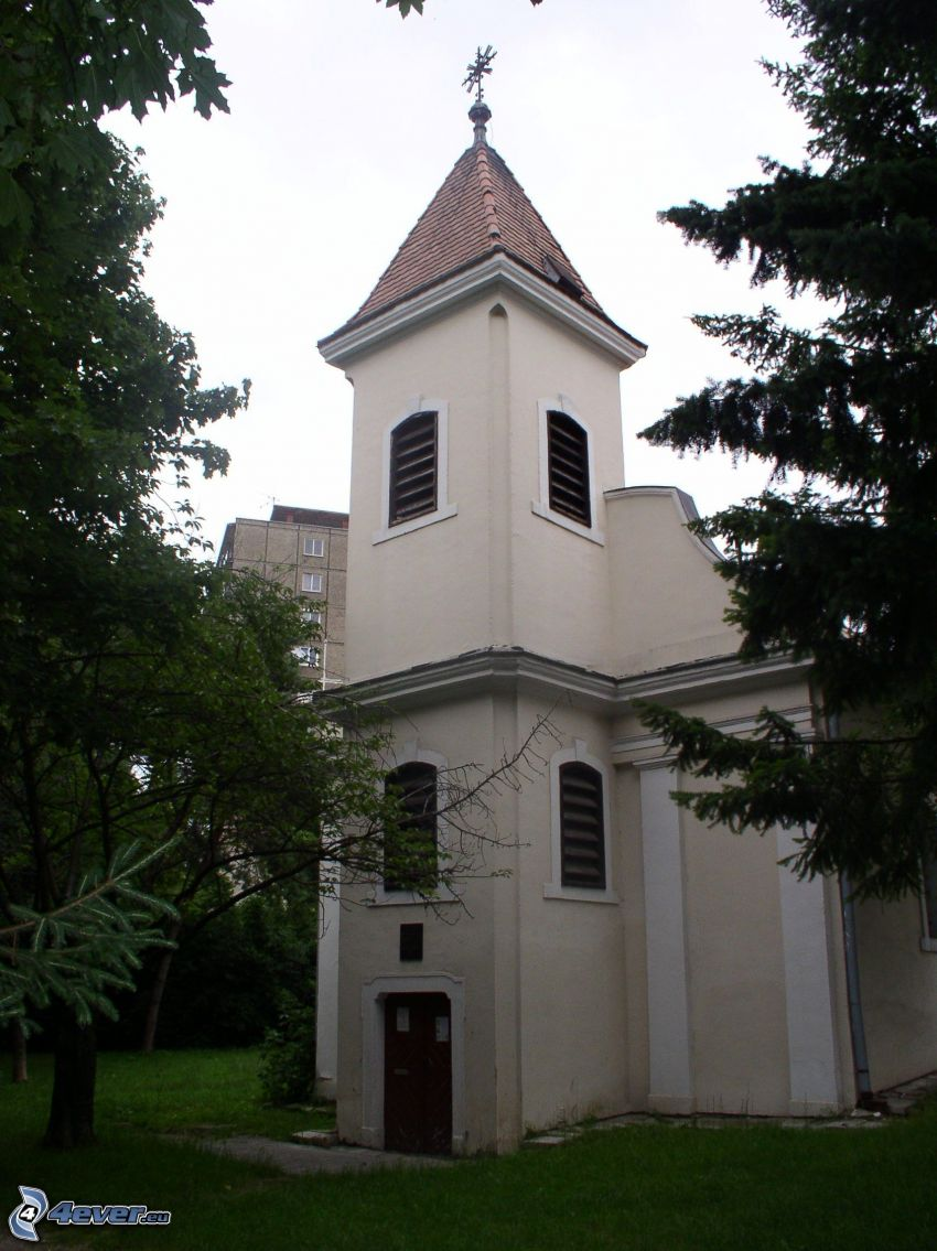 church, Párovce, Nitra