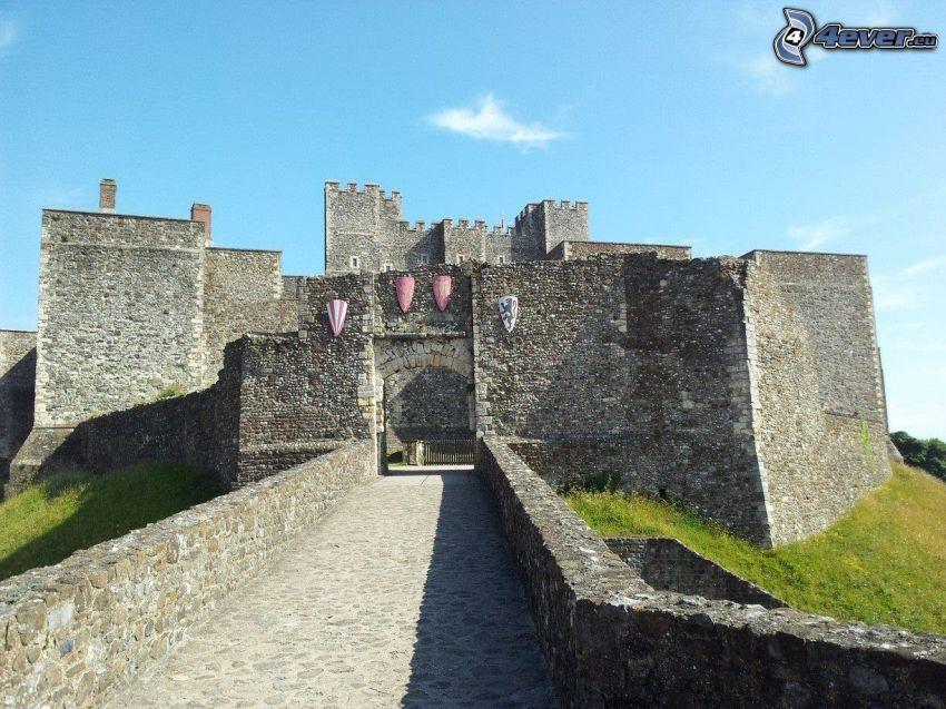 Dover Castle, gate