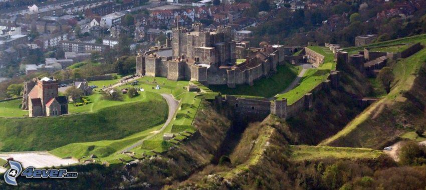 Dover Castle, view