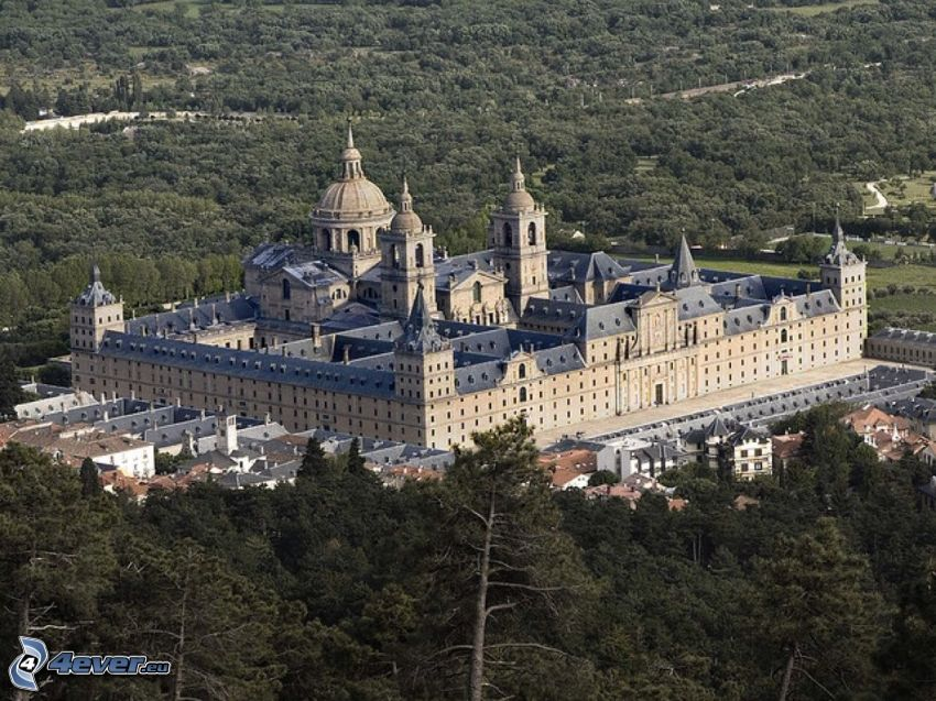 El Escorial, forest