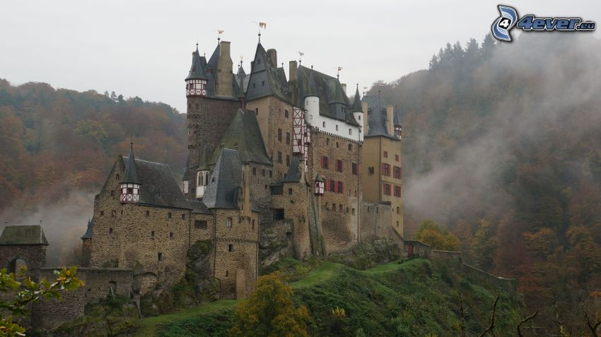 Eltz Castle, steam