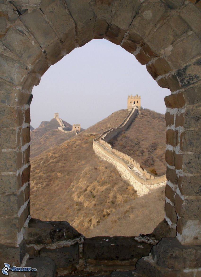 Great Wall of China, ancient window