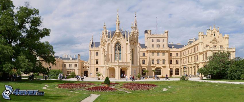 Lednice castle, garden