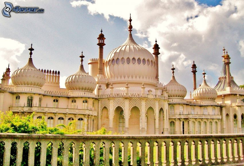 Royal Pavilion, fence