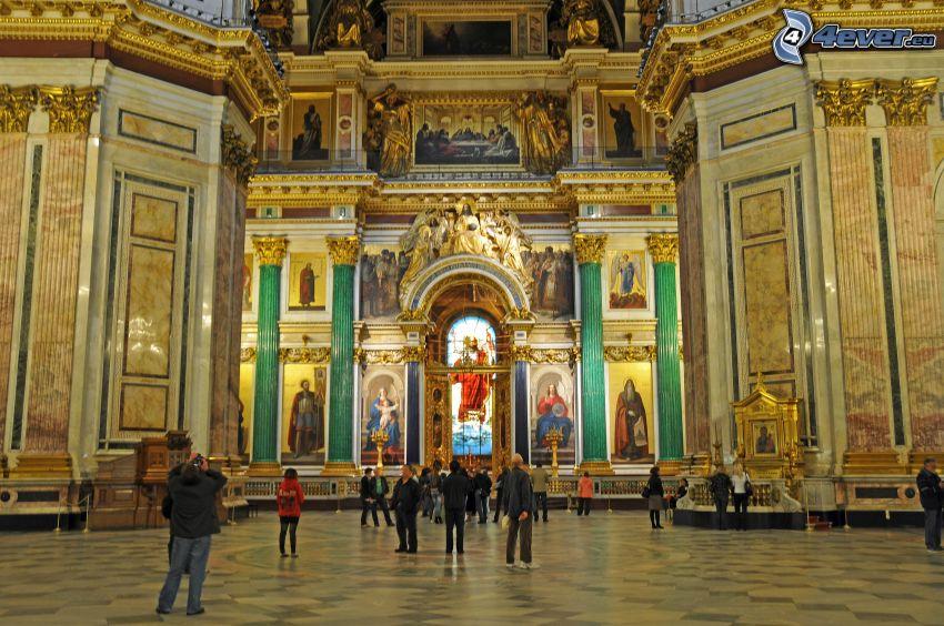 Saint Isaac's Cathedral, interior