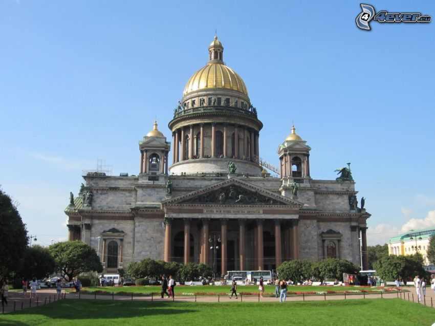 Saint Isaac's Cathedral, Saint Petersburg, park