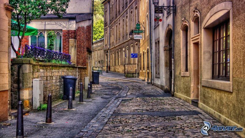 street, HDR