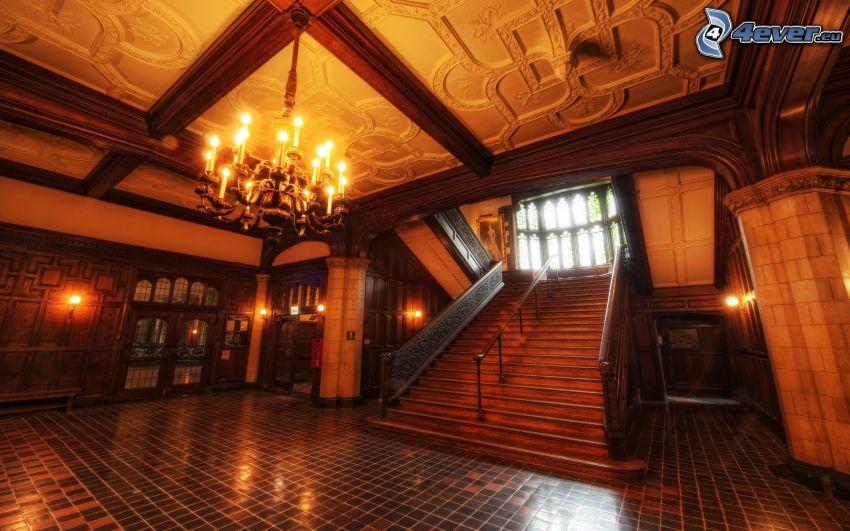interior, stairs