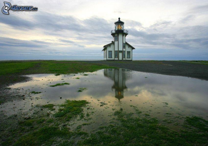 lighthouse, fen