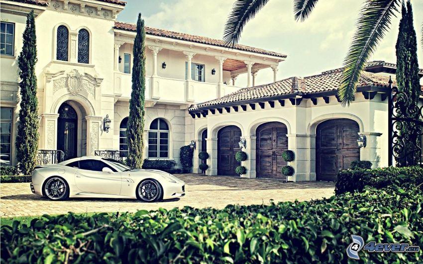 luxury house, Ferrari, London
