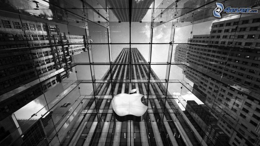 Apple, skyscraper