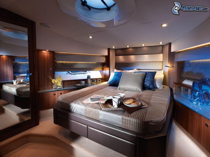 bedroom, bed