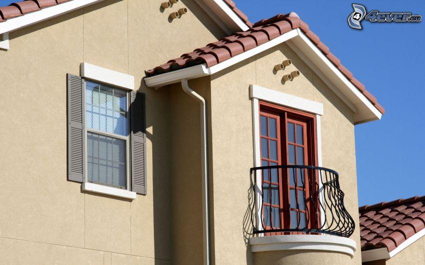 house, balcony