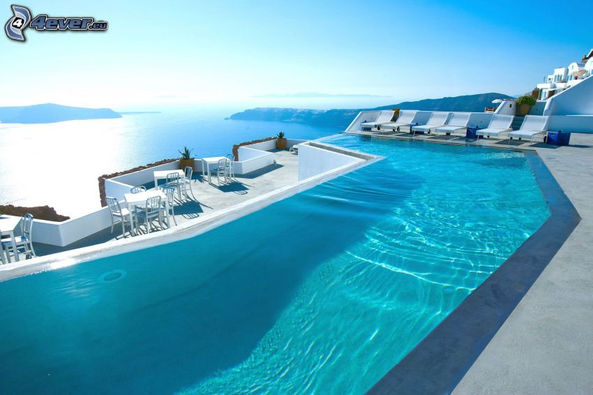 pool, sea, lounger