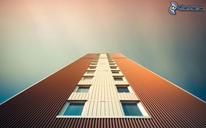 skyscraper, building, sky