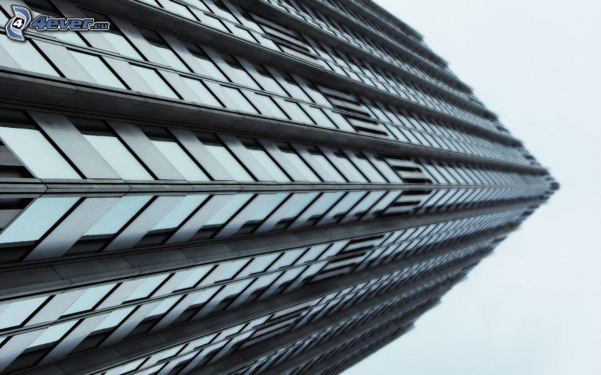 skyscraper, HDR