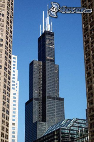 Willis Tower, Chicago, skyscraper