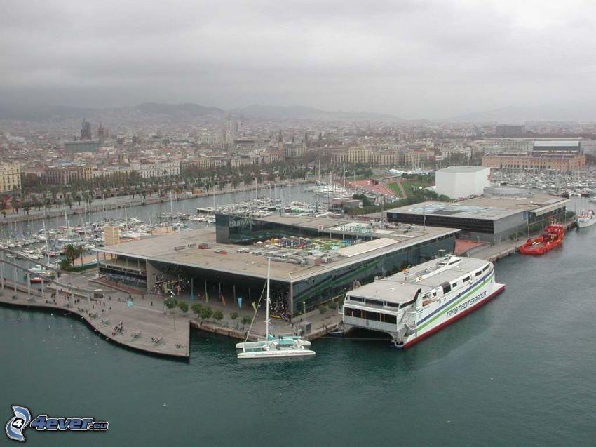 sea, harbor, ship
