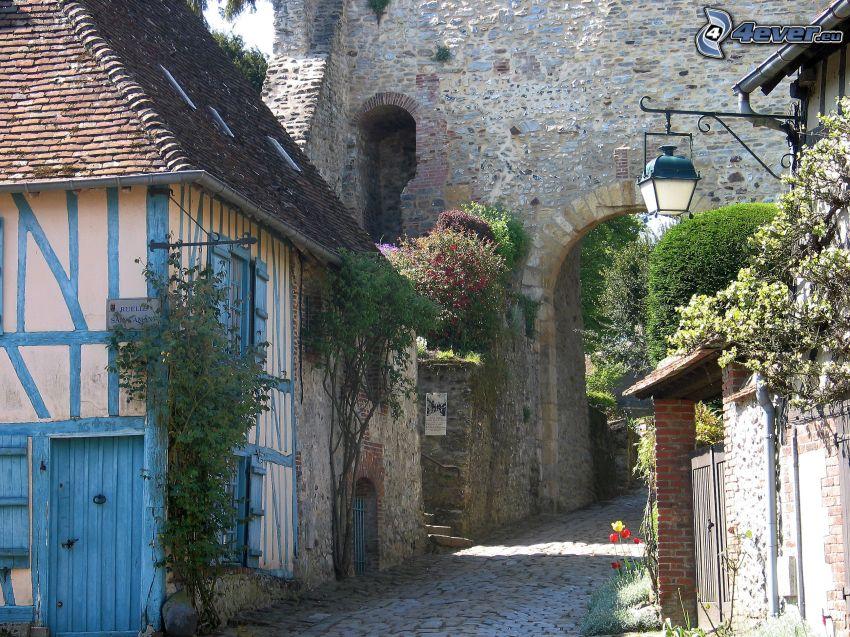 street, walls