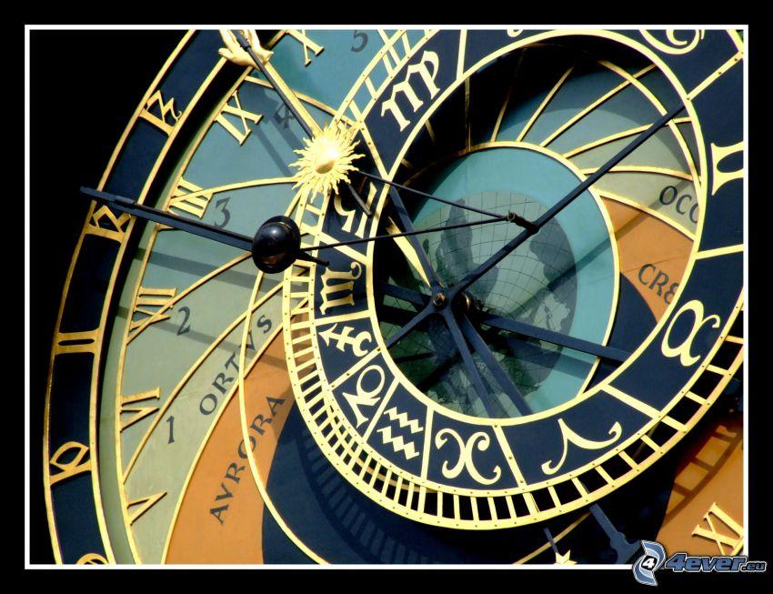 sundial, astronomical clock