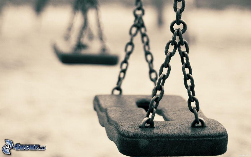 swings, chain