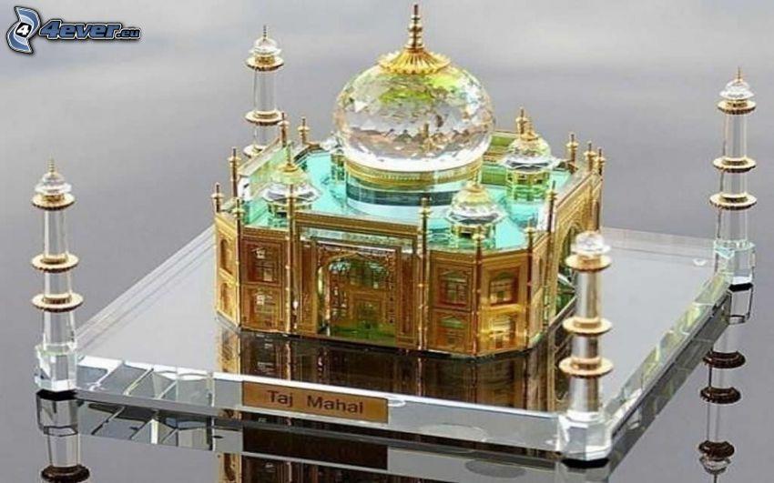 Taj Mahal, miniature
