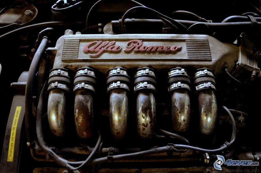 Alfa Romeo, engine