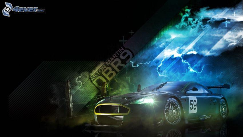 Aston Martin, racing car