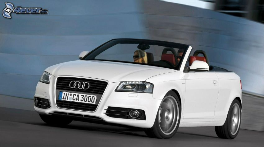 Audi A3, convertible, speed