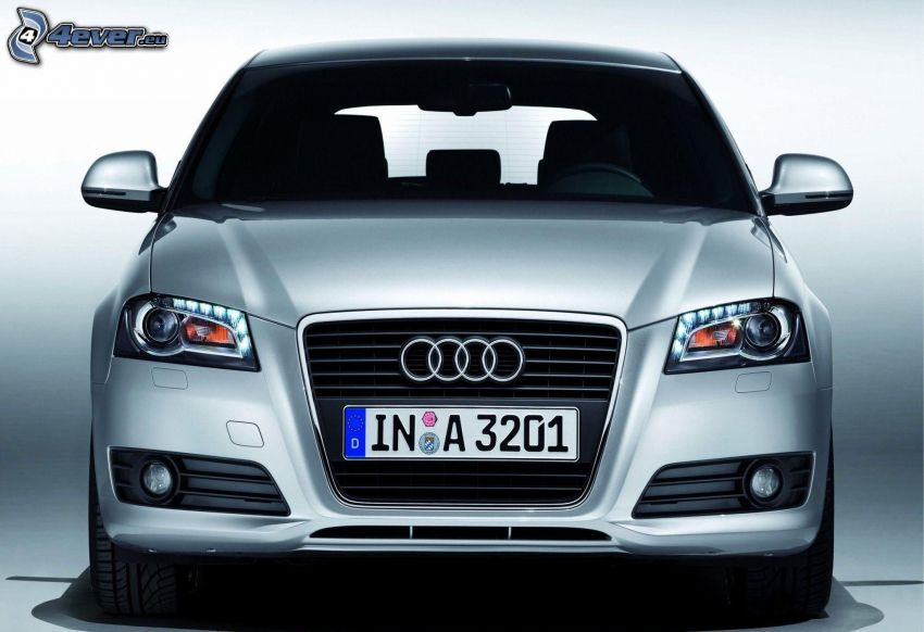 Audi A3, front grille