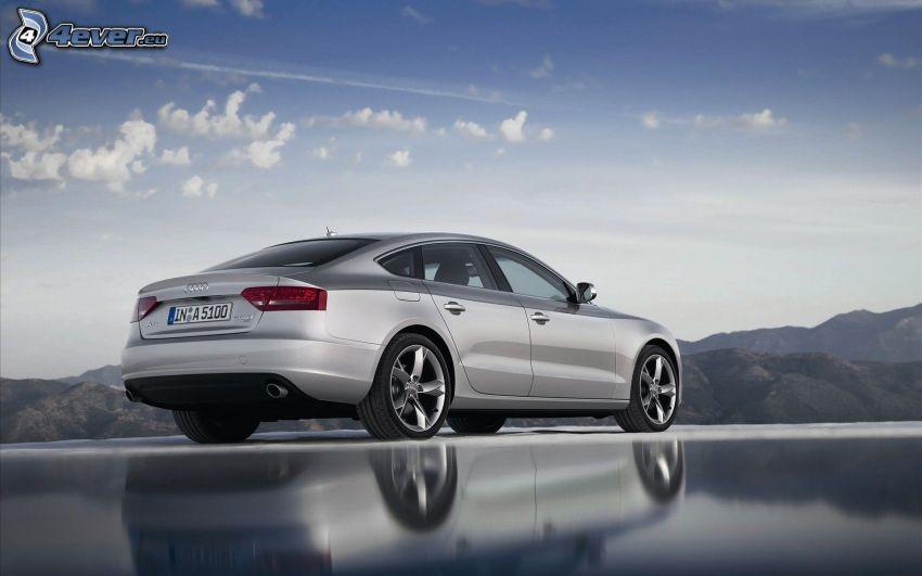Audi A5, mountain