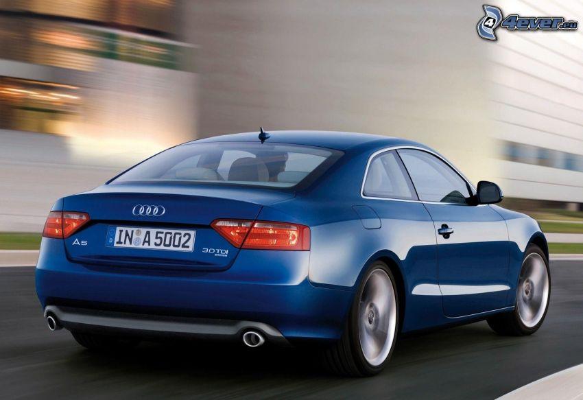 Audi A5, speed