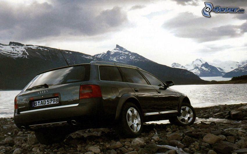 Audi A6, mountain