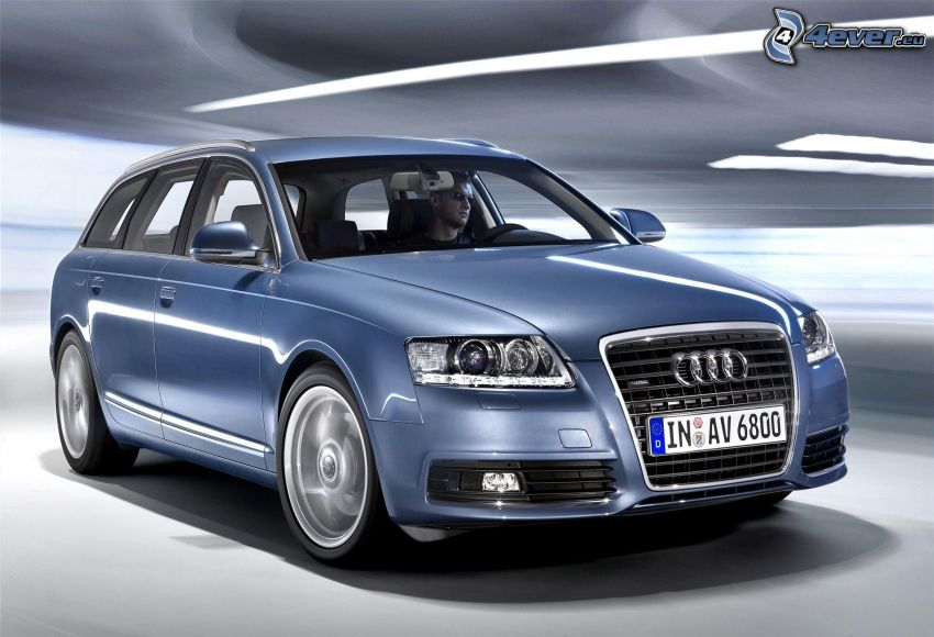 Audi A6, speed
