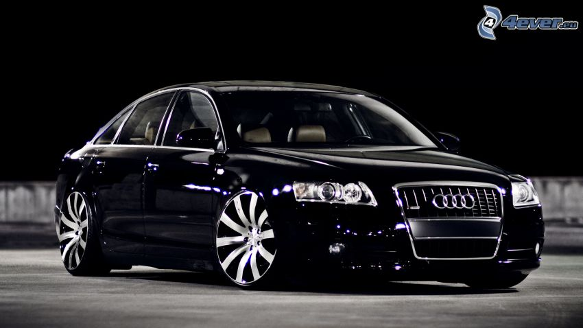 Audi A8, low-profile tires