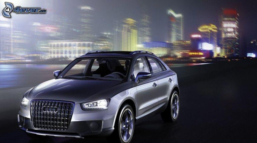 Audi Q3, speed