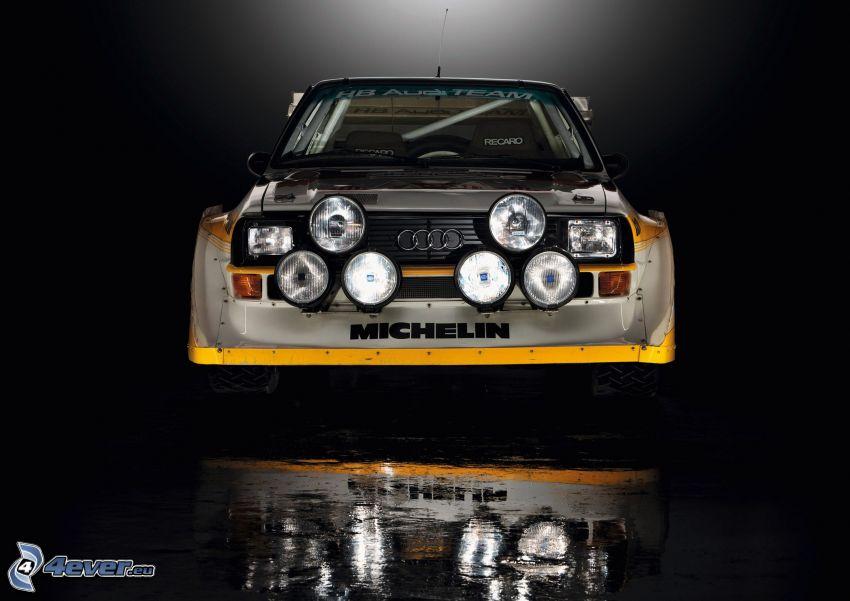 Audi Quattro, reflection