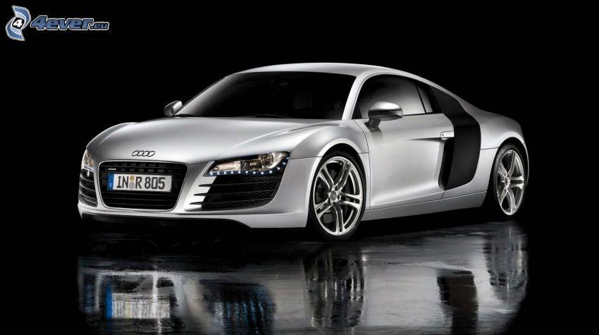 Audi R8, reflection
