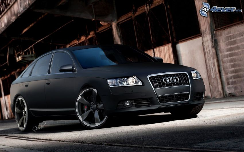 Audi S6, the old factory