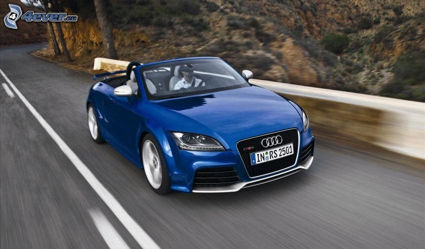 Audi TT, convertible, speed