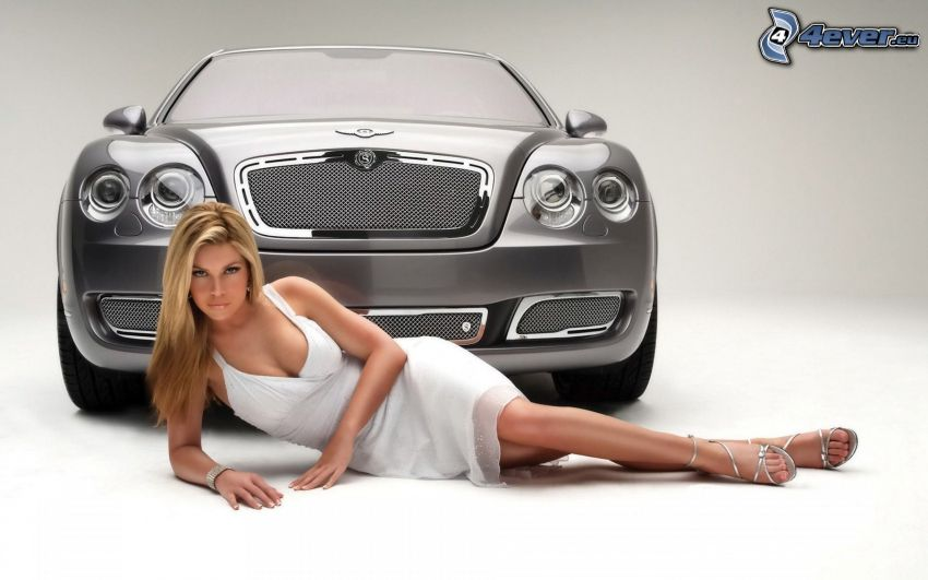 Bentley, sexy blonde
