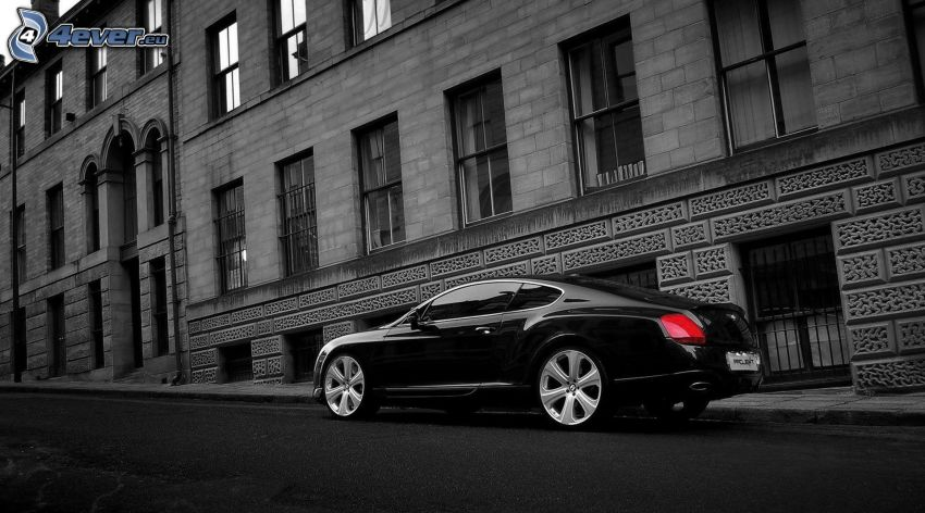 Bentley Continental, building