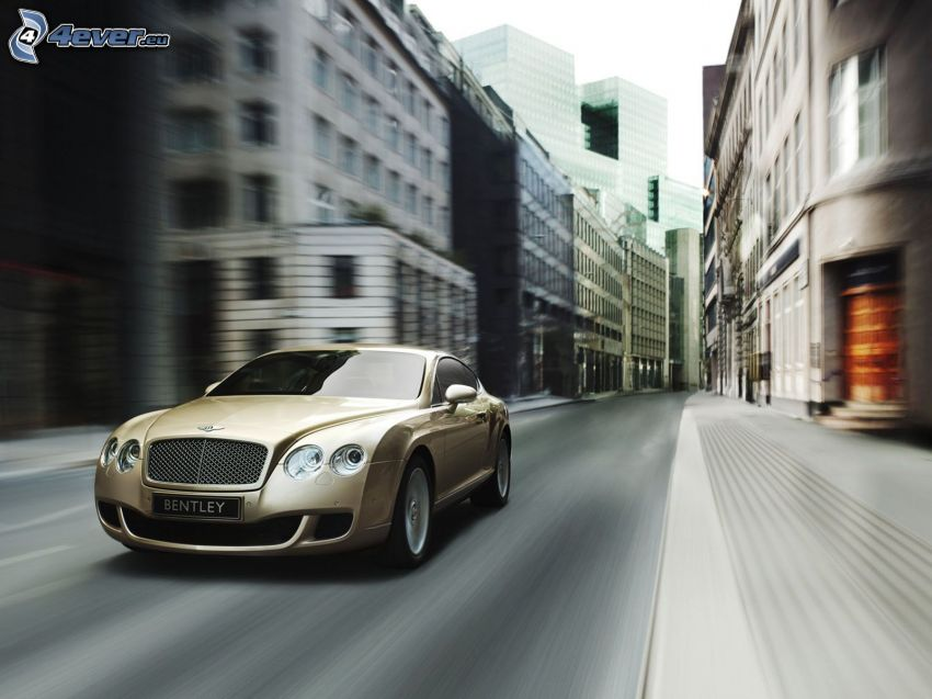 Bentley Continental, speed